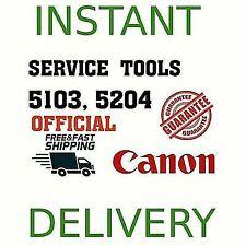 Canon Service Tools V5103 v5204 G1100,G2100 ¡INSTANT DELIVERY! 1 PC - 2 KEYS