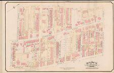1890 MONTREAL, CANADA, ST. LAWRENCE WARD, WESLEYAN CHURCH, COPY PLAT ATLAS MAP