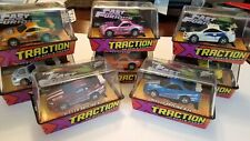 2004 Johnny Lightning Fast & Furious X-traction Slot Car lot of 8 w/ PINK CHASE