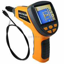 "5.5 mm Video Inspection Camera Industrial Endoscope 3.5"" LCD Pipe Borescope 180°"