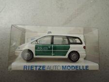 Rietze 50740 Ford Galaxy Polizei grün/weiß in OVP aus Polizei-Sammlung (*4)