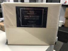 Devon Collection 4 pc. King Sheet Set 900 Thread Count Luxury Sateen
