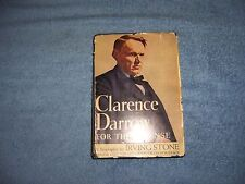 CLARENCE DARROW by Irving Stone/1st Ed./Signed/HCDJ/Literature/Historical