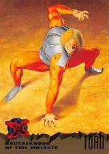 TOAD / X-Men Fleer Ultra 1995 BASE Trading Card #62
