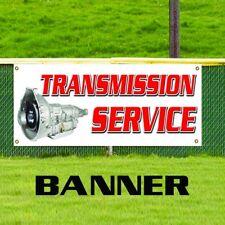 Transmission Service Mechanic Auto Tire Repair Shop Vinyl Banner Sign