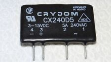 CX240D5 SSR Elektronisches Relais CRYDOM OUT 240VAC5A IN3-15V/DC Nullsp Arduino