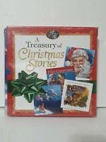 A Treasury of Christmas Stories Children's Books NEW GIFT Santa Angel 1st Jolly