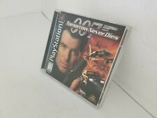 007 TOMORROW NEVER DIES Game for Playstation 1 PS1 Complete CIB E26
