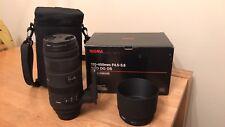 Sigma EX DG APO 120-400 mm F/4.5-5.6 OS Hsm Dg Lentille