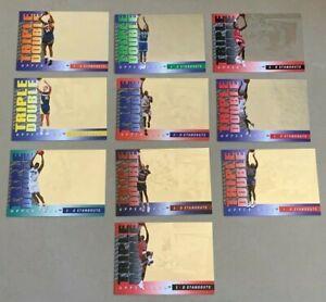 1993-94 UPPER DECK TRIPLE DOUBLE 3-D STANDOUTS FULL SET MICHAEL JORDAN