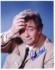 REPRINT - PETER FALK 2 Columbo autographed signed photo copy
