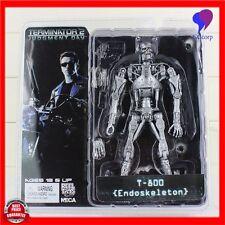 NECA The Terminator 2 Action Figure T-800 ENDOSKELETON PVC Collectible Toy