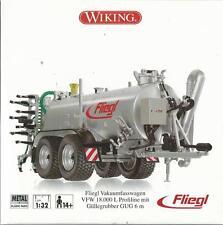 WIKING 1:32 RIMORCHIO IN METALLO  FLIEGL VFW 18.000 L  14+ ART 7338
