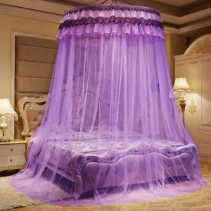 Kid Baby Bed Canopy Mosquito Net Curtain Bedding Round Dome Tent Mosquito Net