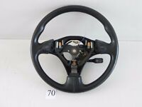 2001-2005 IS300 STEERING WHEEL BLACK LEATHER CONTROL BUTTON 45100-53161 D01 #70