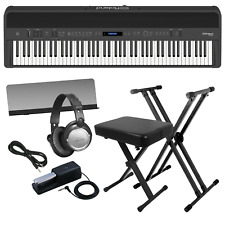 ROLAND FP-90 DIGITAL PIANO - BLACK KEY ESSENTIALS BUNDLE