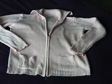 Damen Strick Jacke rosa Gr.M 40/42 Marke ElleNor mit Reißverschluss