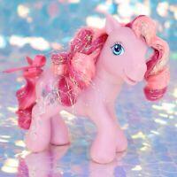 My Little Pony TULIP TWINKLE Pink Swirl Glitter Tinsel Hair G3 MLP BJ945