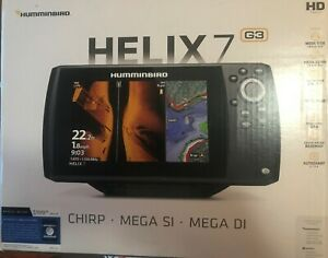 Helix 7 CHIRP MSI GPS G3, w/Xdcr, Nav+ Also Includes ICE Ducer
