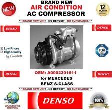 DENSO ARIA CONDIZIONATA COMPRESSORE AC OEM: a0002301611 per Mercedes Benz Classe