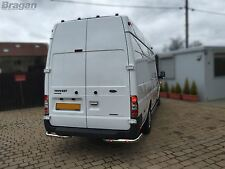 To Fit 07 - 14 Ford Transit MK7 Stainless Steel Rear Corner Bars Van Accessories
