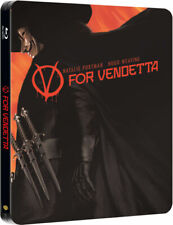 V for Vendetta Blu-ray Zavvi Exclusive Steelbook * Region free Sold Out NEW