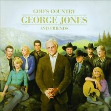God's Country: George Jones and Friends by Various Artists (2-CD, Dec-2013)