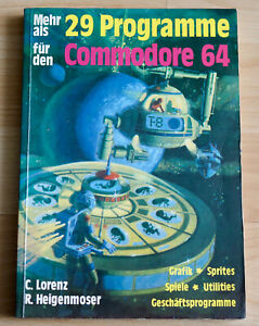 More Than 29 Programs For Commodore 64 - Book From Hofacker & C.Lorenz