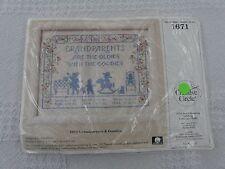 Creative Circle 1671 Grandparents and Goodies Sampler Cross Stitch Kit
