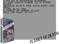 Sinclair ZX Spectrum 48K Game - PLANET OF DEATH - Artic - Tested & Working