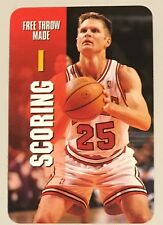 "STEVE KERR, RARE 1998 ""INTERACTIVE CARD GAME"" CARD IN EXCELLENT CONDITION ! WOW"