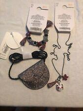 NWT Gymboree Jewelry Lot Tassle Necklace Bracelet Small Purse Sparkle Gifts
