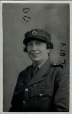 WW2 Lady Woman Auxiliary Territorial Service Canadian service medal 1940
