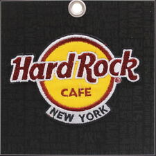 Hard Rock Cafe NEW YORK 2018 Classic HRC Logo PATCH on Card Iron/Sew On NEW!
