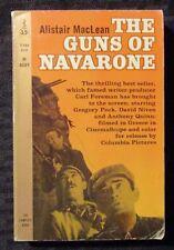 1961 THE GUNS OF NAVARONE by Alistair MacLean VG- 3.5 3rd Permabooks Paperback