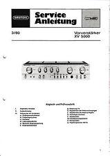 Service Manual-Anleitung für Grundig XV 5000