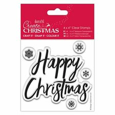 Papermania Happy Christmas 4x4' Clear Stamps PMA907240