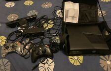 Microsoft Xbox 360 Slim With Kinect Sensor 250GB Glossy Black Console