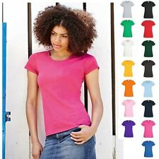 2 x Lady Fit Damen Frau Woman Valueweight 2er Set T-Shirt Fruit of the loom