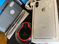 Apple iPhone X (64gb) Verizon Unlocked (A1865) Silver MiNT Open-Box {FMI-OFF}94%