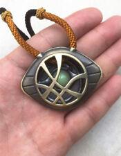 New Marvel Hero Dr Doctor Strange Pendant Eye of Agamotto Luminous Necklace Gift