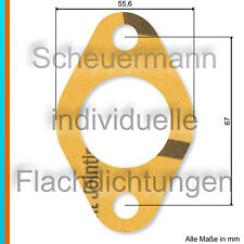 Lasergeschnittene Vergaserflansch-Dichtung für Opel Admiral, Blitz 3to 3,6