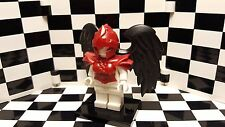 Lego Custom Harpy Red with Black Wings Minifigure Accessory Pack