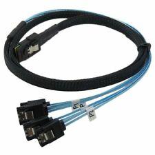 Mini SAS SFF-8087 Male-SATA Male Drive Cables
