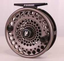Sage Trout Series Reel 4/5/6 Stealth Silver FREE BACKING - FREE FAST SHIPPING