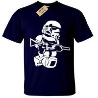 LEGO TROOPER Mens T-Shirt BIG PRINT storm wars jedi vader star yoda funny top