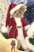 "WILLIE B JOLLY Santa Bearington Bear 10""  $24.99 NEW 2011 w/Tags #1763 Rare"