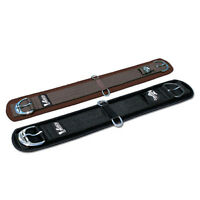 Professionals Choice Cinch Ventech Black or Brown Straight Neoprene Girth Horse