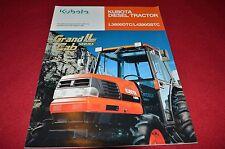 Kubota L3600 DTC L4200 GSTC TRactor Dealers Brochure LCOH