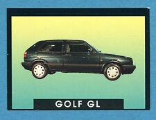 AUTO - Stickline - Figurina-Sticker n. 144 - VOLKSWAGEN GOLF GL -New